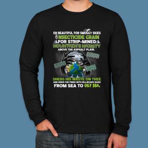 Unisex Environmental Pollution Long Sleeve -Zero Waste Initiative 18
