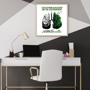 The Air You Breathe Poster - Zero Waste Initiative 30