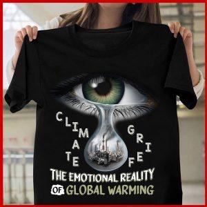 Unisex Climate Grief T-Shirt Zero Waste Initiative 31