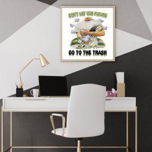 Future Humanity Poster - Zero Waste Initiative 4