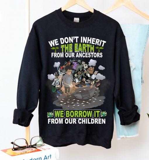 Unisex Respect Future Crew Neck Sweatshirt - Zero Waste Initiative 6