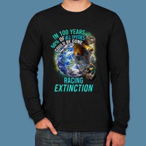 Unisex Racing Extinction Long Sleeve -Zero Waste Initiative 3