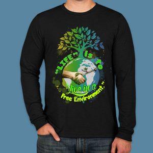 Unisex Free Environment Long Sleeve -Zero Waste Initiative 14