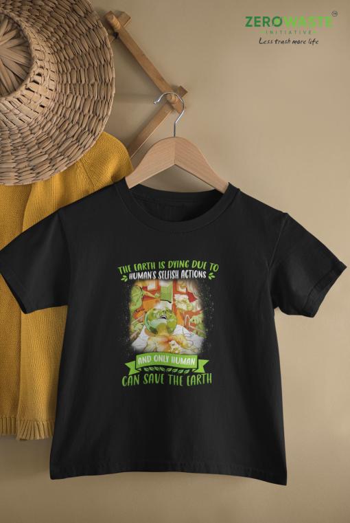 Selfish Actions Youth T-shirt Unisex Zero Waste Initiative 16