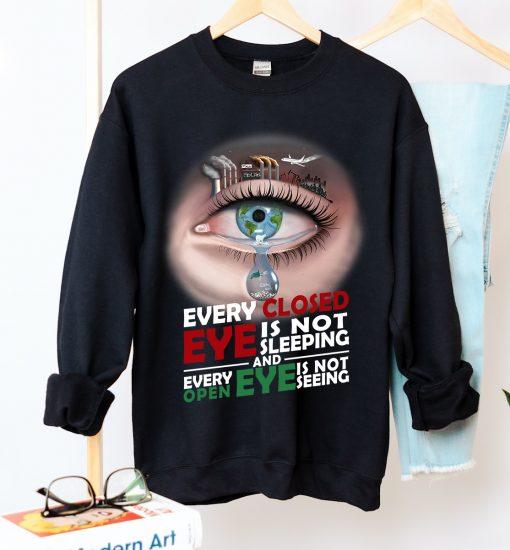 Unisex Face The Fact Crew Neck Sweatshirt - Zero Waste Initiative 11