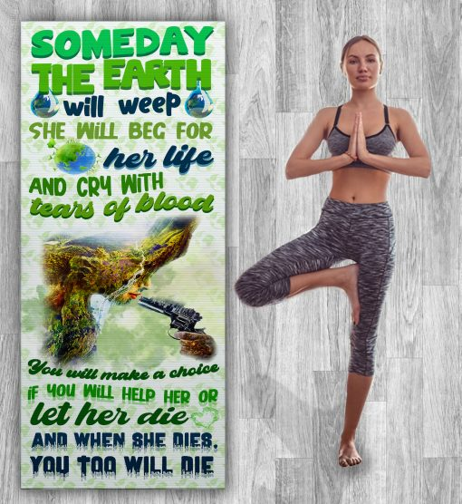 Save The Earth Yoga Mat Zero Waste Initiative