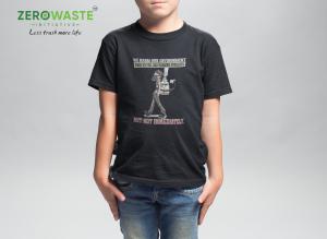 Harm Environment Youth T-shirt - Unisex Zero Waste Initiative 15