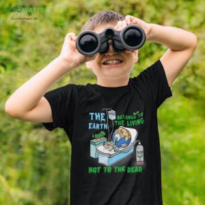 Earth Death Youth T-shirt - Unisex Zero Waste Initiative 19