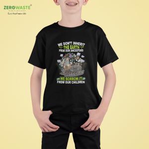 Respect Future Youth T-shirt - Unisex Zero Waste Initiative 6