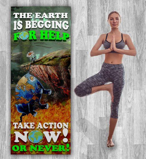 HELP THE EARTHYOGA MAT - ZERO WASTE INITIATIVE