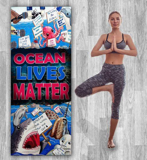 OCEAN MATTER YOGA MAT ZERO WASTE INITIATIVE 12